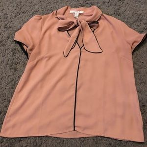 Forever 21 xxi front tie blouse